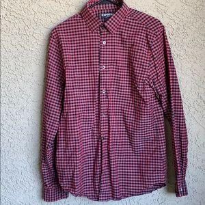 Express Modern Fit Button Shirt